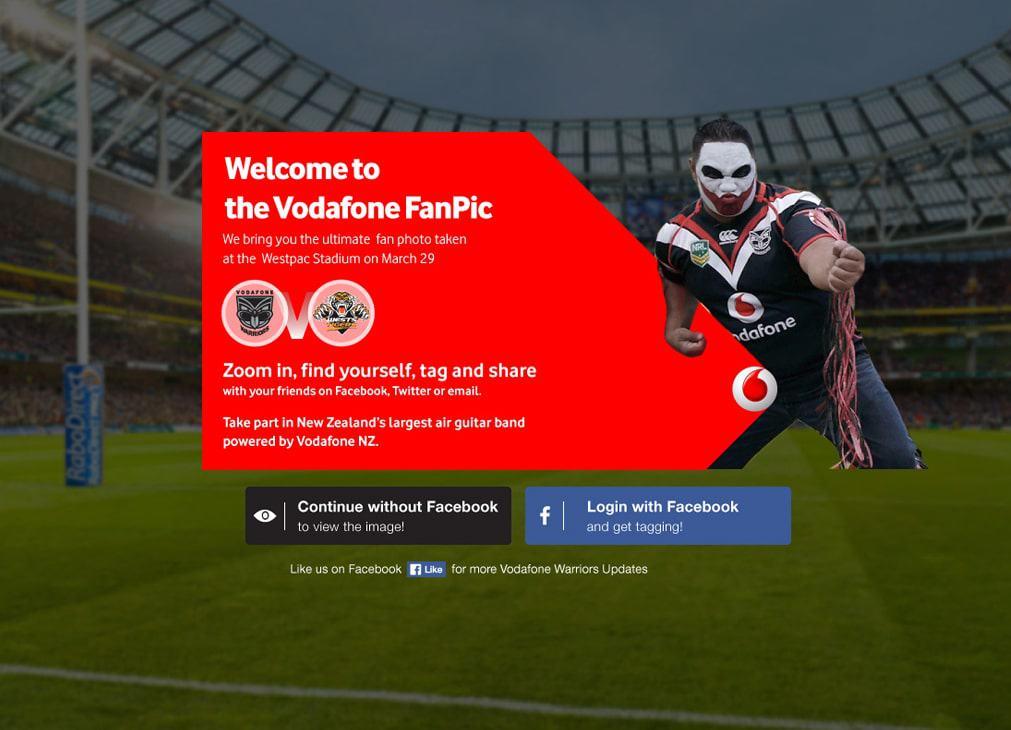 Vodafone UX